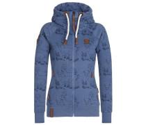 Female Zipped Jacket 'Zbigniew II' blau
