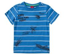 T-Shirt für Jungen 'Insekten' blau