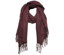Einfarbiger Schal braun