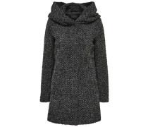 Woll-Mantel grau