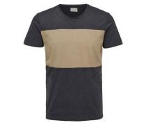 T-Shirt hellbeige / graphit