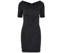 Wickel-Kleid schwarz