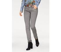 Skinny-fit-Jeans 'Brididot' grau