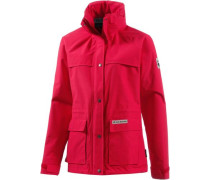 Outdoorjacke Damen Rainy Days rot