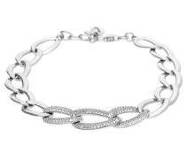 Armband 'Braid Slim Double' silber