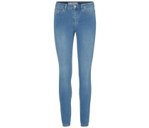 'Seven NW Smooth' Skinny Fit Jeans blau