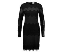 Kleid mit Spitze 'Michelle' schwarz