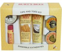 'Tips & Toes Kit' Beauty- und Pflegeset für Hände & Füße (6-tlg.) gelb