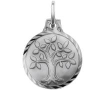 Kettenanhänger »Lebensbaum« silber