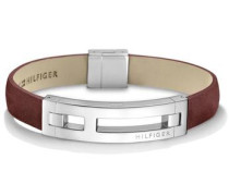 Armband »Men's Casual 2700877« rostbraun / silber