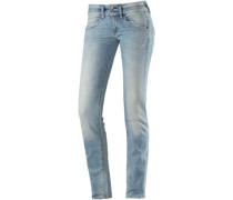 Mora Skinny Fit Jeans Damen blue denim