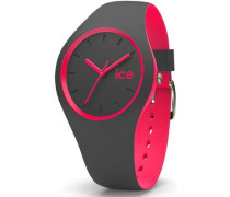 ice-watch Quarzuhr »Ice duo - Anthracite Pink Duo.apk.u.s.16« anthrazit / pink