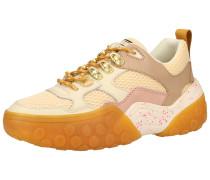 Sneaker beige / nude / pastellpink