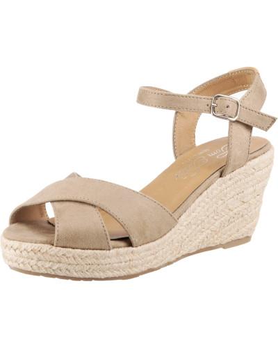 Sandalette beige / camel