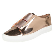 Sneaker im Metallic-Look 'Iona' rosegold