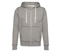 Sweatshirtjacke 'jorstorm Sweat ZIP Hood B' graumeliert