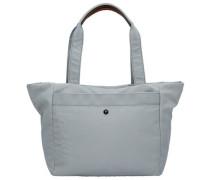 Nylon Naviga Dia Shopper Tasche grau / hellgrau