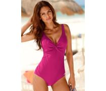 Bügel-Badeanzug magenta