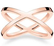 Fingerring 'tr2139-415-12' rosegold