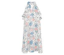 Sommerkleid 'ac0441' blau / pink / schwarz / weiß