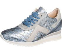Sneakers hellblau / silbergrau