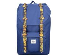 Rucksack mit Laptop-Fach 'Little America Mid-Volume' blau