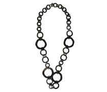 Ringkette im Sixties-Look schwarz