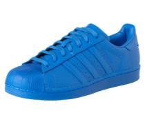 Sneaker 'Superstar' royalblau