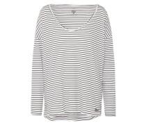 Oversize Shirt 'Essential' schwarz / weiß