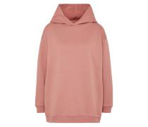 Übergroßer Sweater altrosa