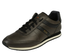 Sneaker 'Adrenal-Runn' oliv / schwarz