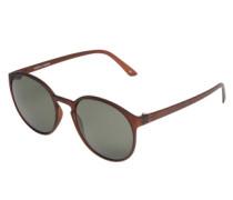 Sonnenbrille 'Swizzle' braun / schwarz