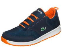 'L.ight Sneaker' Kinder blau / neonorange