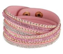 Wickelarmband 'Wanda' pink