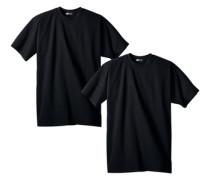 Unterziehshirt (2 Stück) schwarz