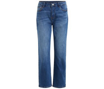 7/8 Loose Fit Jeans blau