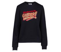 Sweatshirt 'Xog' mischfarben / schwarz