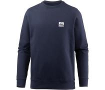'Crew' Sweatshirt Herren ultramarinblau