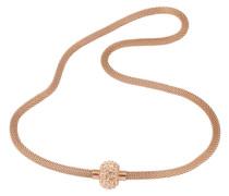 Halskette in Meshgliederung gold