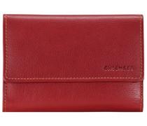 Vermentino Geldbörse Leder 147 cm rot