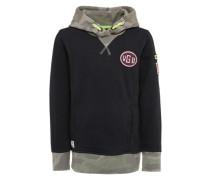 Sweatshirt 'Nigello' schwarz