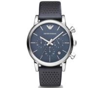 Chronograph 'ar1736' blau / schwarz
