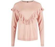 Pullover 'yaslory Flounce' rot