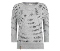 Pullover 'Maja with melons' grau
