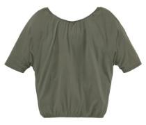 ¾ Arm Shirt mit Fledermausärmeln für Mädchen grün