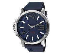 "Armbanduhr "" 10391 Ultrasie 50 Bold - Silver Navy Pu103911003"" blau"