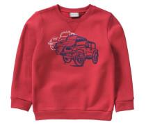 Sweatshirt für Jungen rot