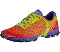 WS Lite Train Mountain Running Schuhe gelb / lila / rot