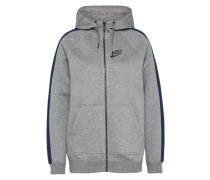 Sweatjacke 'rally Hoodie Air' grau