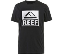 'big' T-Shirt Herren schwarz / weiß